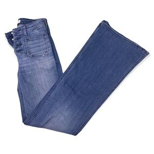 Abercrombie & Fitch Flared Highwaisted Jeans